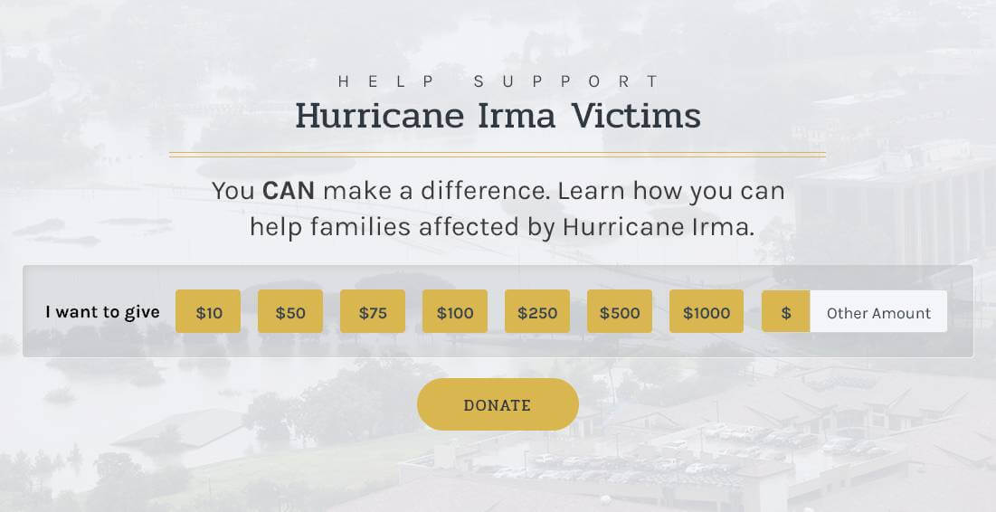hurricane Irma Victims